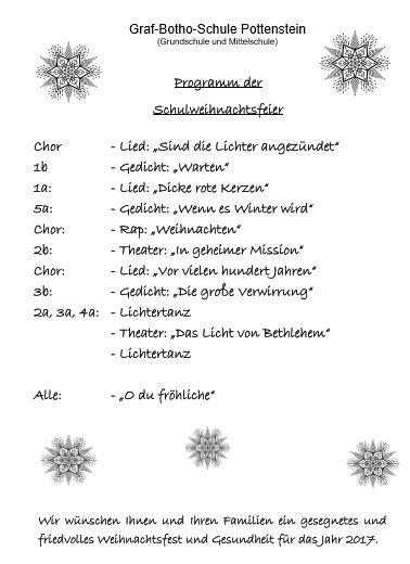Gedicht eroffnung weihnachtsfeier